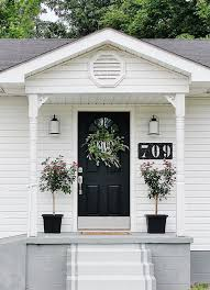 front door curb appealDIYify 14 Easy Curb Appeal DIYs  BHG Style Spotters
