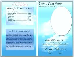 microsoft office funeral program template free memorial program templates office funeral service or obituary