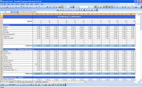 Household Expense Sheet Best Photos Of Household Bills Tracking Worksheet Free