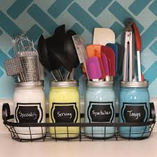 Kitchen Utensil Storage How To Get A Tiny Kitchen Organized Jars Small Kitchens And