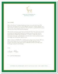 Printable Official Letter From Santa Template