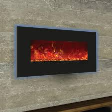 wall mounted gas fireplaces with awesome modern flames al inch linear mount electric