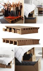 karton cardboard furniture. Cardboard Bed Karton Furniture