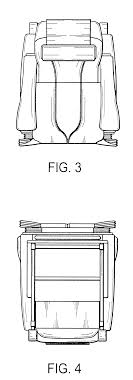 chair massage drawing. patent drawing chair massage