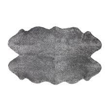 new zealand sheepskin rug in graphite 482 50 amara com