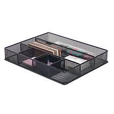 office drawer organizers. Brenton Studio Metro Mesh Large Drawer Organizer 2 716 H X Office Organizers