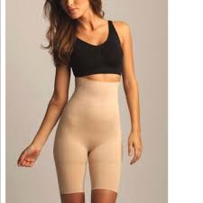 Nwt Slimme By Memoi High Waisted Thigh Shaper