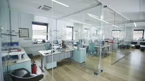 contemporary office spaces. View Around A Stylish Contemporary Office Space With No People Stock Footage Video 4389074 | Shutterstock Spaces