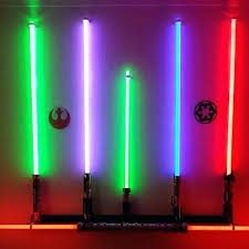 lightsaber wall mount my master replica force collection finally got wall mounted fx lightsaber horizontal wall