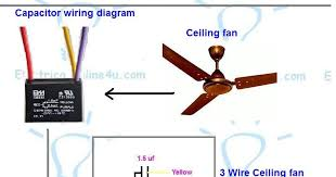 ceiling fan 3 wire capacitor wiring diagram 3 Wire Wiring Diagram 3 Wire Wiring Diagram #100 4 wire wiring diagram
