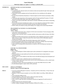 Resume Analyzer Failure Analysis Engineer Resume Samples Velvet Jobs 22