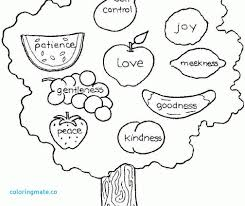 Fruit Of The Spirit Coloring Page Mofasselme