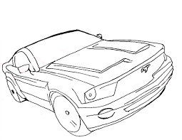 ford mustang coloring pages printable coloringstar to print