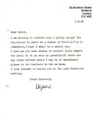 the ncropa archive  the above apparently to david webb is a letter accepting an invitation to serve on the ncropa committee 29 copy letter ncropa to marsden cockshott