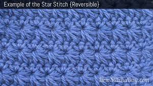 Star Stitch Crochet Pattern