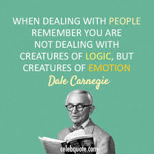 Dale Carnegie Quotes Adorable Dale Carnegie Quote About People Logic Human Emotion CQ