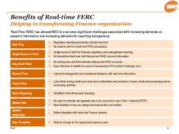 Ferc Chart Of Accounts Realtime Reporting_wec Success Story_final