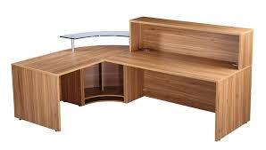 walnut office desks. madrid reception desk walnut office desks