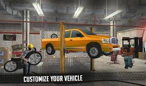 6x6 Offroad Pickup Truck Simulator Extreme Driving for Android - APK ...