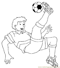 Small Picture Soccer Football Coloring Page 03 Coloring Page Free Others