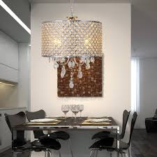 crystal chandelier with drum shade. LightInTheBox Drum Chandelier Crystal Modern 4 Lights, Home Ceiling Light Fixture Flush Mount, Pendant Chandeliers Lighting: Amazon.co.uk: With Shade C