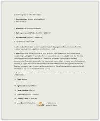 memorandums and letters business communication for success a sample business letter