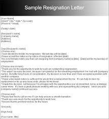 6 7 Two Weeks Resignation Letter Sample Leterformat