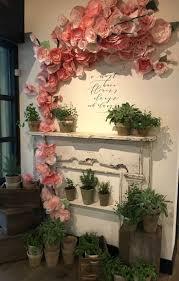 Flower Wall Top 25 Best Flower Wall Decor Ideas On Pinterest 3d Paper