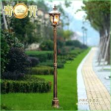 solar lamp posts garden post outdoor lights canada