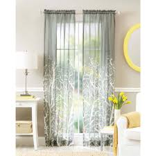better homes and gardens arbor springs semi sheer window curtain com