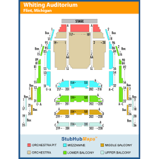 Seating Chart Whiting Auditorium 32 Expert The Whiting Seating Chart