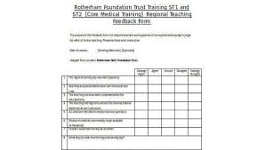 Free Feedback Form Amazing Sample Teaching Feedback Forms 44 Free Documents In Word PDF