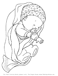 🖍 over 6000 great free printable color pages. Coloring Pages Of A Baby Coloring Home