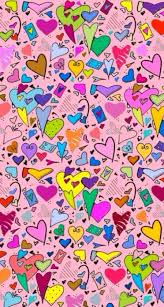 colorful heart wallpapers. Plain Wallpapers Cute Colorful Hearts Wallpaper Iphone Galaxy Wallpaper Heart  Love Backgrounds Intended Colorful Wallpapers L