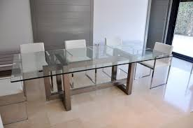 rectangular glass dining tables. Stainless Steel Top Dining Table High Is Also A Kind Of Rectangular Glass. Living Room Glass Tables