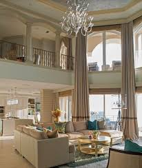 awesome mediterranean living room with high ceiling chandelier zillow pertaining to chandelier for high ceiling attractive