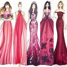 drawings fashion designs burgundy fashion illustrations ylime pinteres