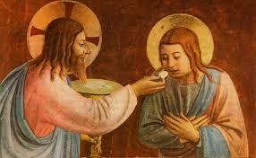 Última Cena la Eucaristía