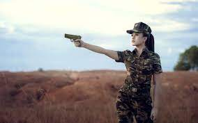 Iphone Army Girl Wallpapers posted by ...