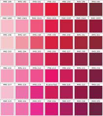 Color Chart Hot Shoppe Designs