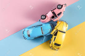 Track day auto insurance rates. Toy Cars In Accident On A Pastel Colorful Background Three Car Stock Photo Picture And Royalty Free Image Image 140683723