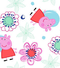 Peppa Pig Flannel Fabric 42
