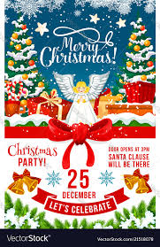 Christmas Holiday Invitations Christmas Party Invitation Poster Of Xmas Holiday