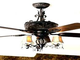 crystal led ceiling fan with foldable blades chandelier fans beautiful candelabra light kit or decorating