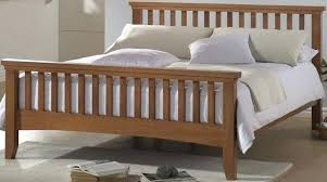 white wooden king size bed sleigh bed super king size wooden beds at best