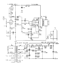 construction 25w single ended class a tube amp circuit diagram construction single ended class a tube amp circuit diagram vacuum tube valves circuits