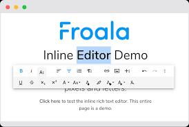 Beautiful WYSIWYG HTML Editor | Javascript Rich Text Editor | Froala