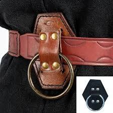 larp axe ring holder