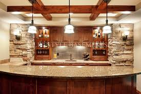 Basement Bars Affordable Best Images About Basement Ideas On