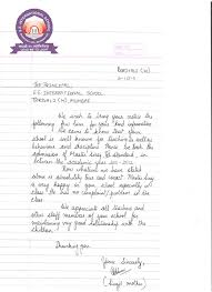 Appriciation Letter From STD III Parent 001 copy